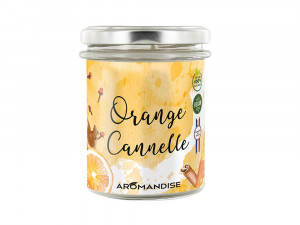 BOUGIE D'AMBIANCE ORANGE CANNELLE
