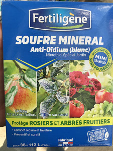 SOUFRE MINERAL 750G