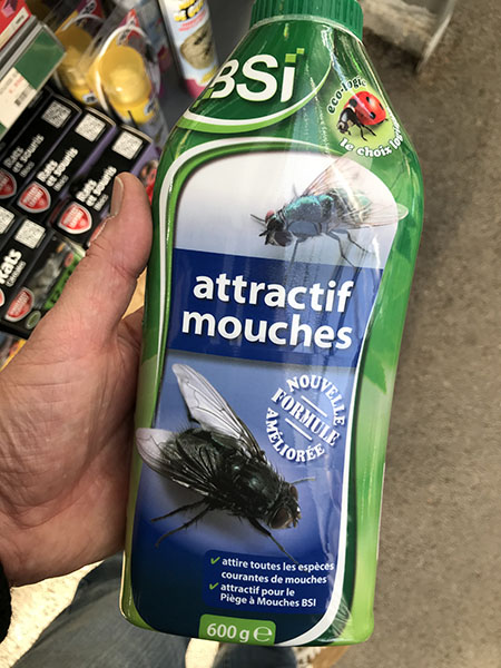 ATTRACTIF MOUCHES 600GR