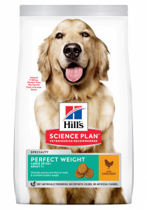 CANINE PERF WEIGHT LARGE POULET HILL'S 12 KG