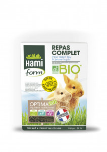 REPAS COMPLET BIO LAPIN TOYS 900 G