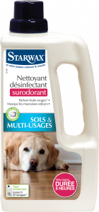 NETTOYANT DESINFECTANT SURODORANT ANIMAL 1L